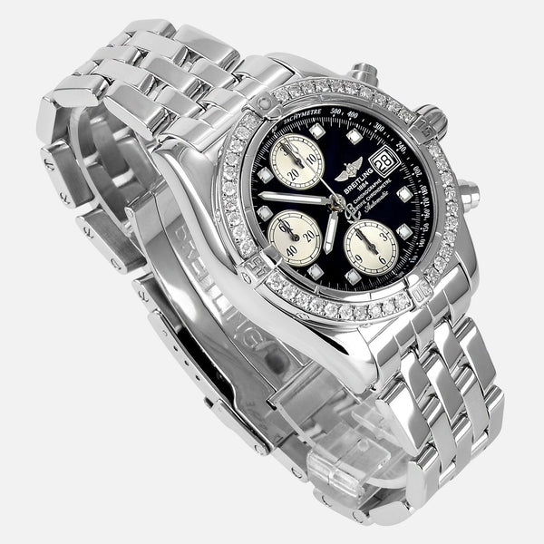 Breitling Cockpit Chronograph Diamond Watch A13357 - NeoFashionStore