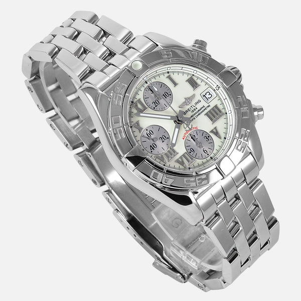 Breitling Galactic Chronograph 39mm Stainless Steel A13358 - NeoFashion Store