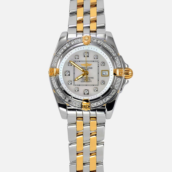 Breitling Cockpit Lady 18K/SS Factory Diamonds B71356 - NeoFashion Store