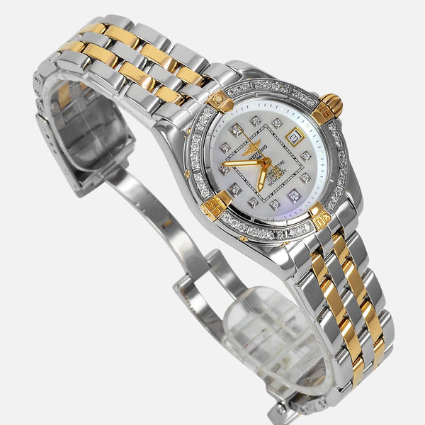 Breitling Cockpit Lady 18K/SS Factory Diamonds B71356 - NeoFashionStore