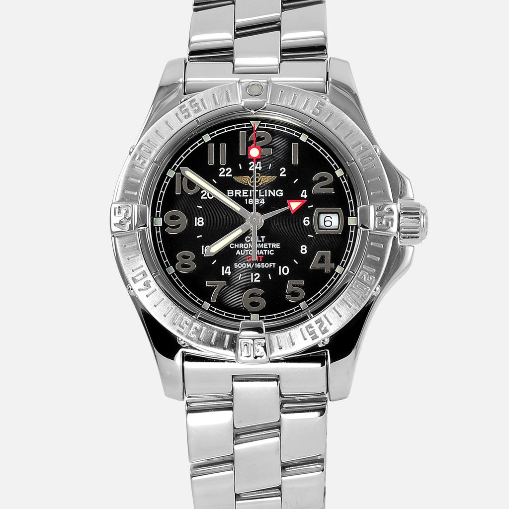 Breitling colt gmt automatic chronometer a32350 neofashion for Breitling automatic
