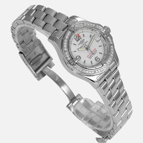 Breitling Colt Oceane Lady Diamond Bezel A77380 - NeoFashionStore
