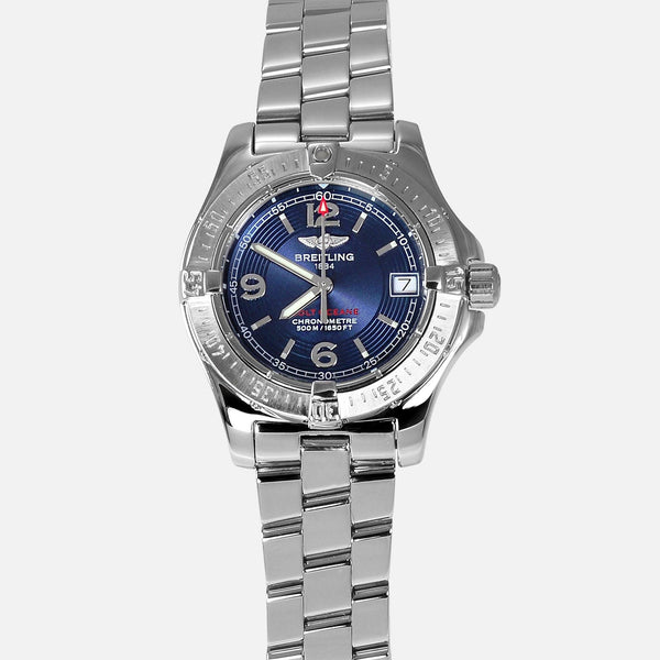 Breitling Colt Oceane Lady 33mm Blue Dial A77380 - NeoFashionStore