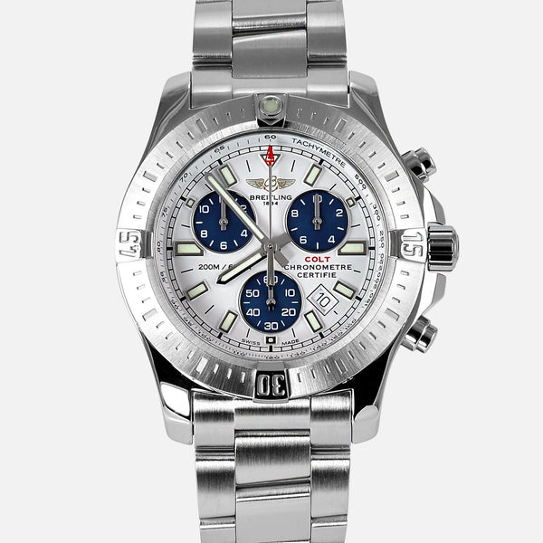 Breitling Colt Chronograph Quartz Stainless Steel A73388 - NeoFashion Store