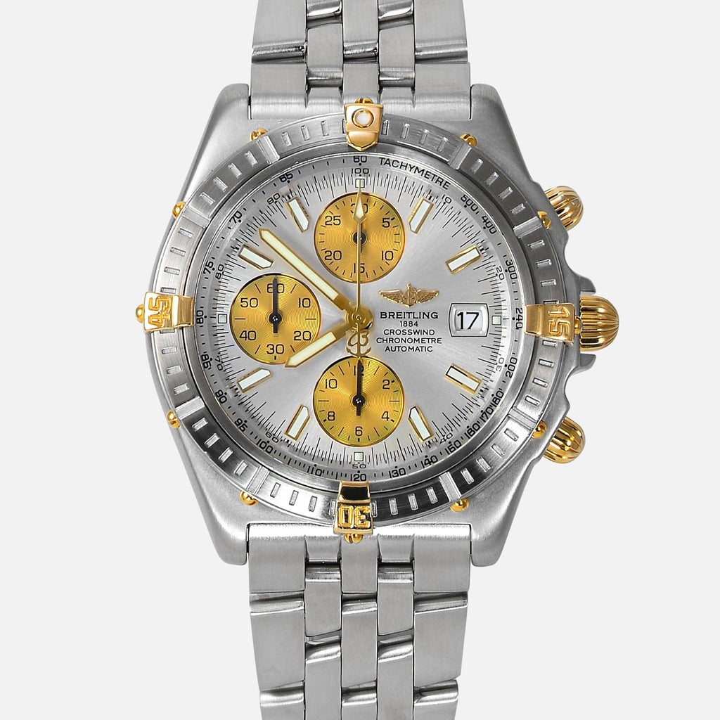 Breitling Crosswind Racing Two-Tone 18K Gold/SS B13355 - NeoFashionStore