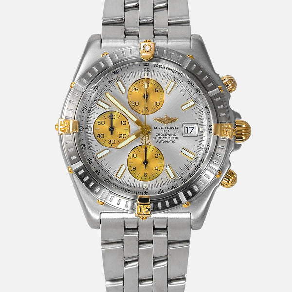 Breitling Crosswind Racing 18K Gold/SS B13355 Mens Watch - NeoFashion Store