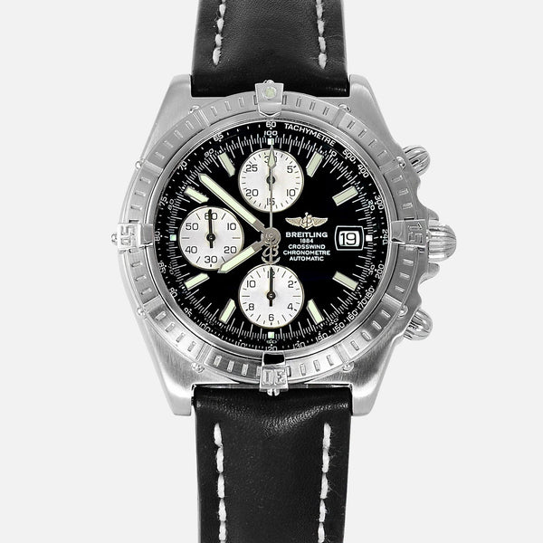 Breitling Chronomat Crosswind Racing Black Dial A13355
