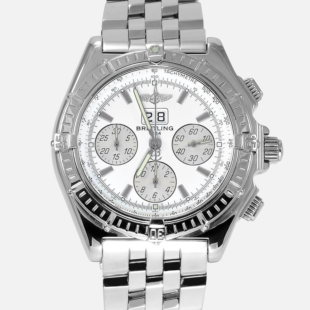 Breitling Crosswind Special Chrono White Dial A44355 - NeoFashionStore