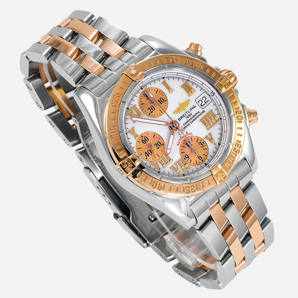 Breitling Galactic Chronograph 39mm 18K Gold/SS C13358