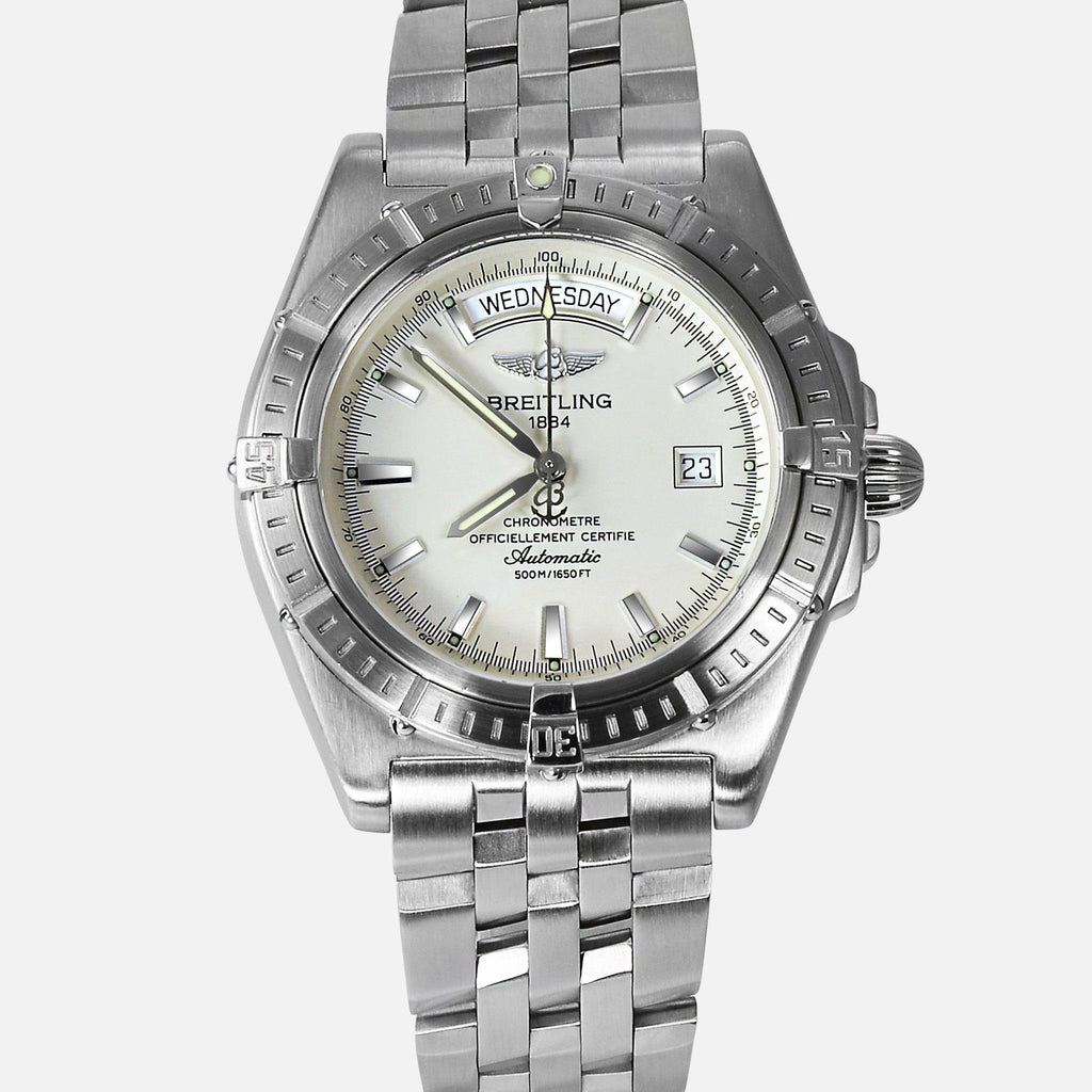Breitling Headwind Day-Date Automatic A45355 Mens Luxury Watch - NeoFashionStore