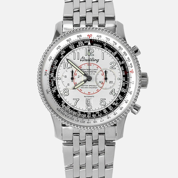 Breitling Montbrillant 1903 Special 100th Anniversary Edition Mens Watch A35330 - NeoFashionStore