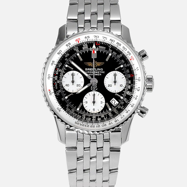 Breitling Navitimer Stainless Steel A23322 Mens Luxury Watch - NeoFashionStore