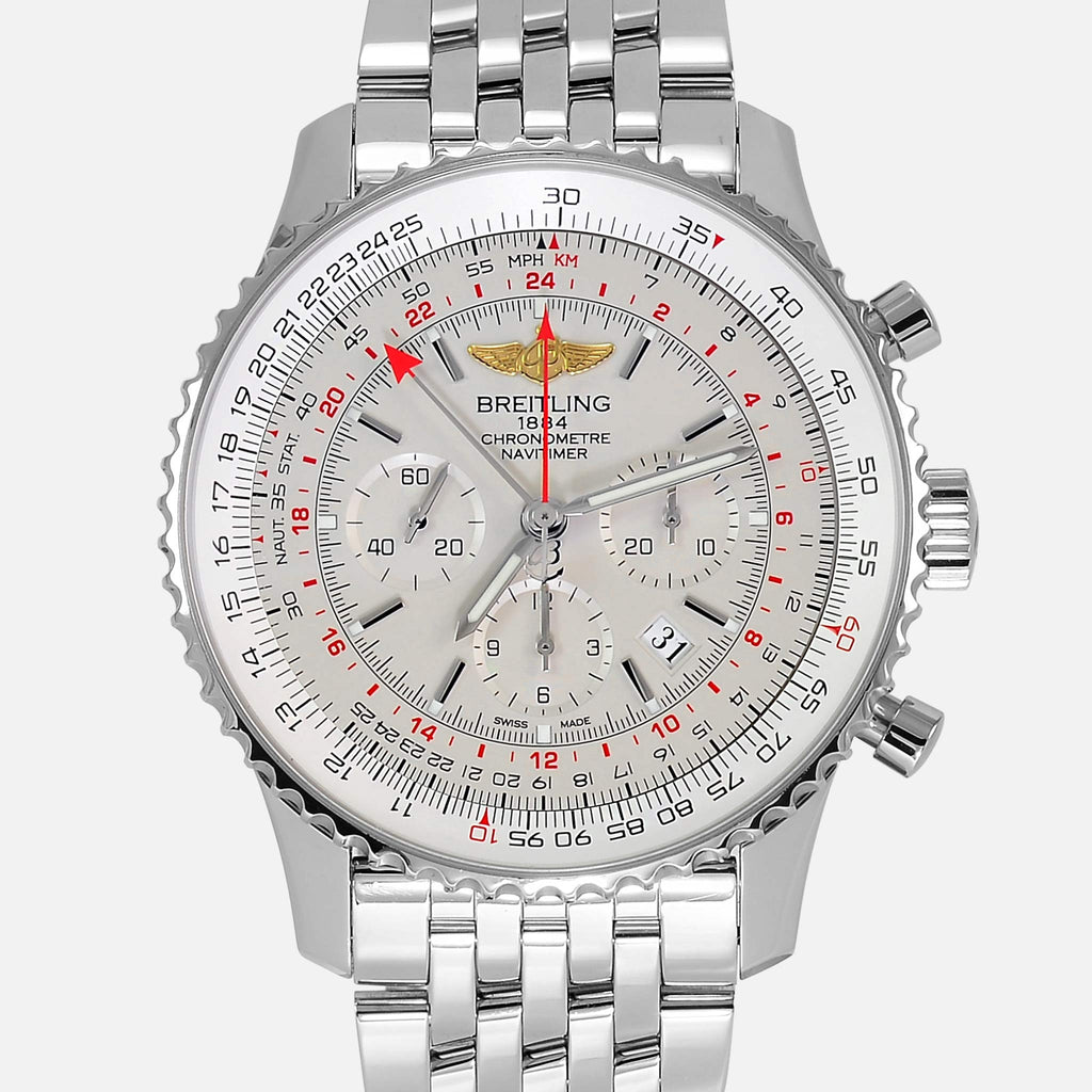 Breitling Navitimer GMT 2nd Time Zone 48mm AB0441 - NeoFashionStore