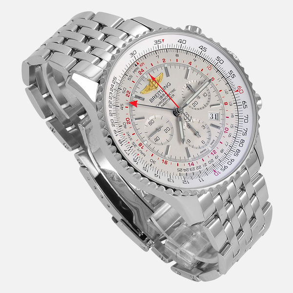 Breitling Navitimer GMT 2nd Time Zone 48mm AB0441