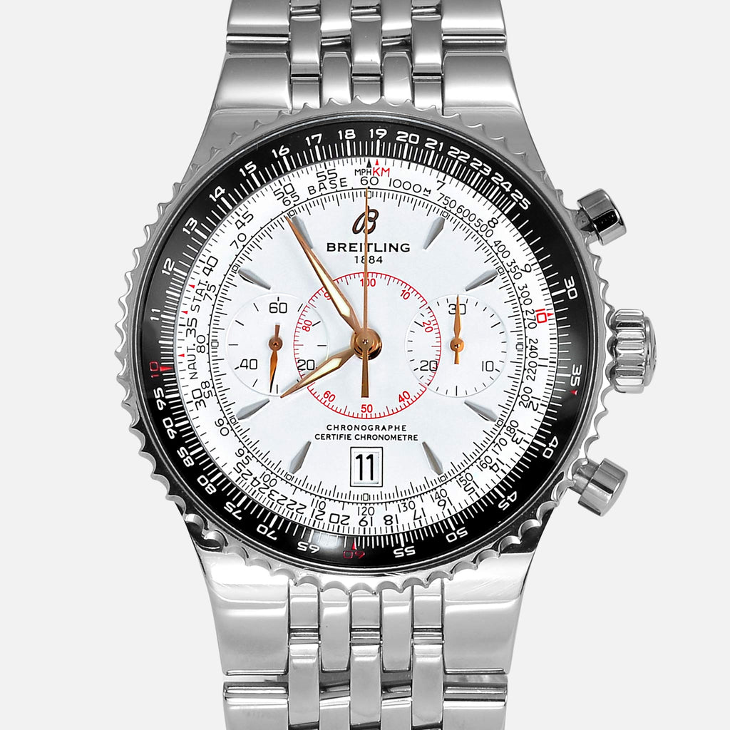 Breitling Navitimer Montbrillant Legende White Dial A23340 - NeoFashionStore