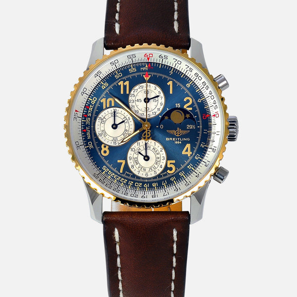 Breitling Navitimer Olympus Perpetual 1461 Limited 250 Edition 18K Gold Bezel D19022 Luxury Watch