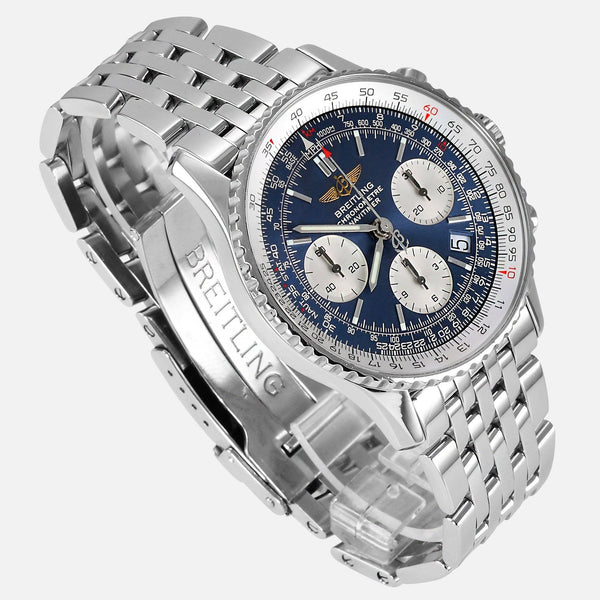 Breitling Navitimer Stainless Steel A23322 Mens Luxury Watch - NeoFashion Store