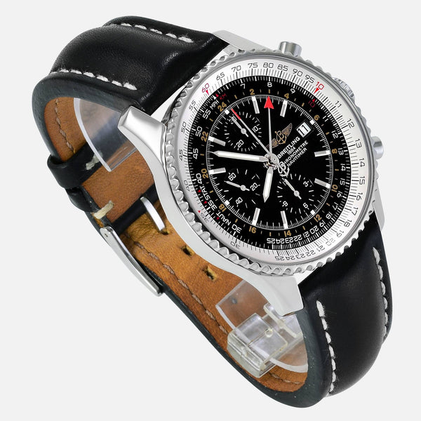 Breitling Navitimer World GMT with 2nd Time Zone A23322 - NeoFashion Store