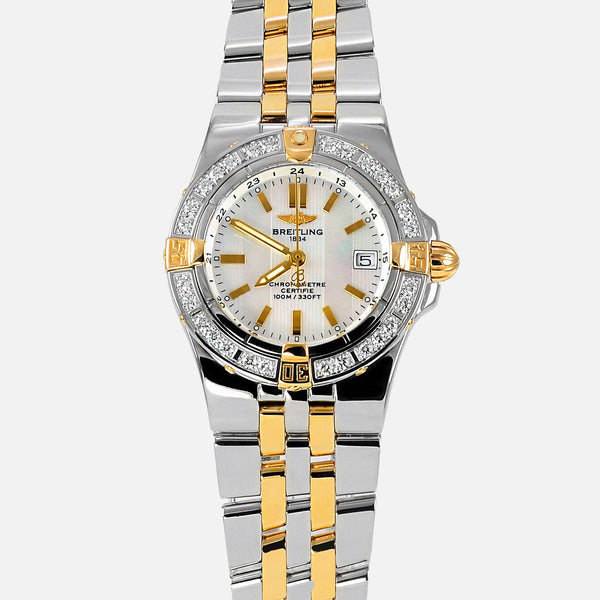 Breitling Starliner Ladies MOP Diamond Bezel B71340 - NeoFashion Store