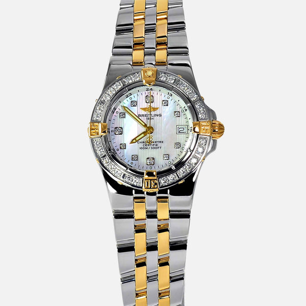 Breitling Starliner Ladies Factory Diamonds MOP B71340 - NeoFashionStore