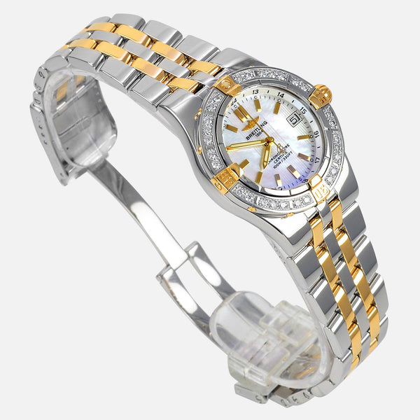 Breitling Starliner Ladies MOP Diamond Bezel B71340 - NeoFashionStore