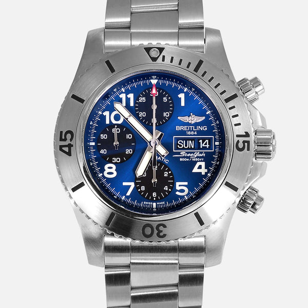 Breitling Superocean Steelfish Chronograph A13341
