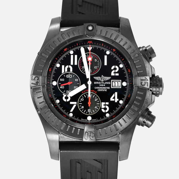 Breitling Super Avenger Blacksteel PVD Limited Edition M13370