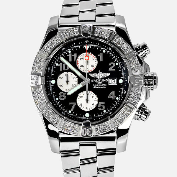 Breitling Super Avenger Diamond Bezel A13370 - NeoFashion Store