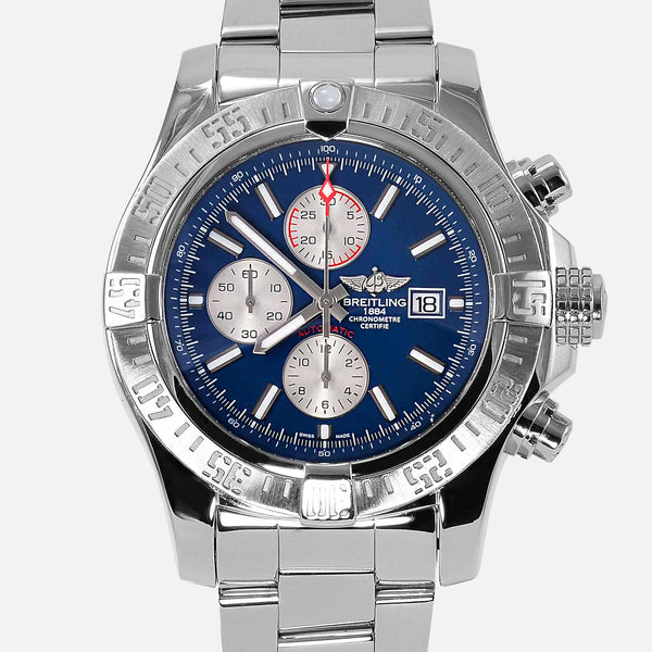Breitling Super Avenger Pro III Blue Dial A13371