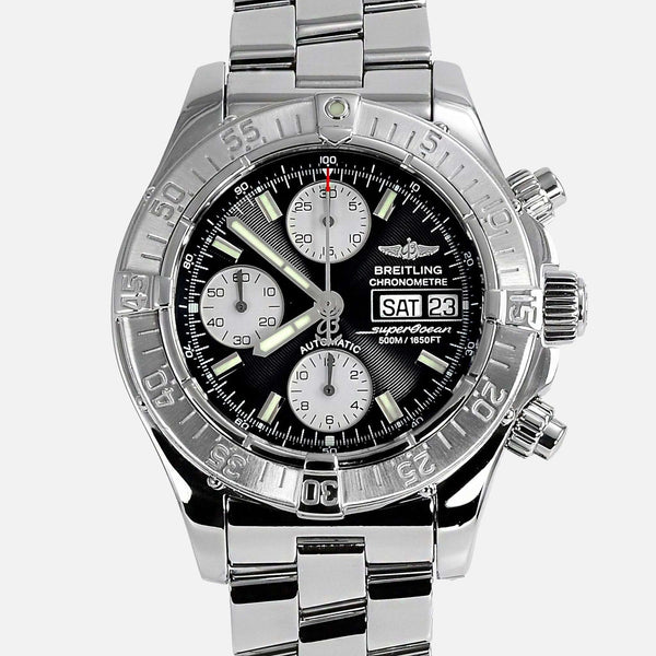 Breitling Superocean Chronograph Divers Watch A13340