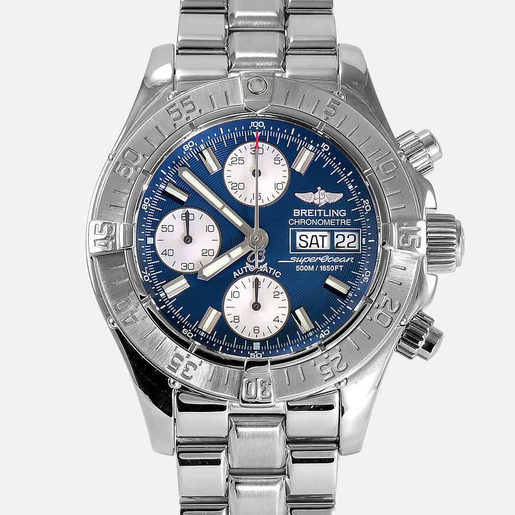 Breitling Superocean Divers Chronograph Blue A13340 - NeoFashionStore