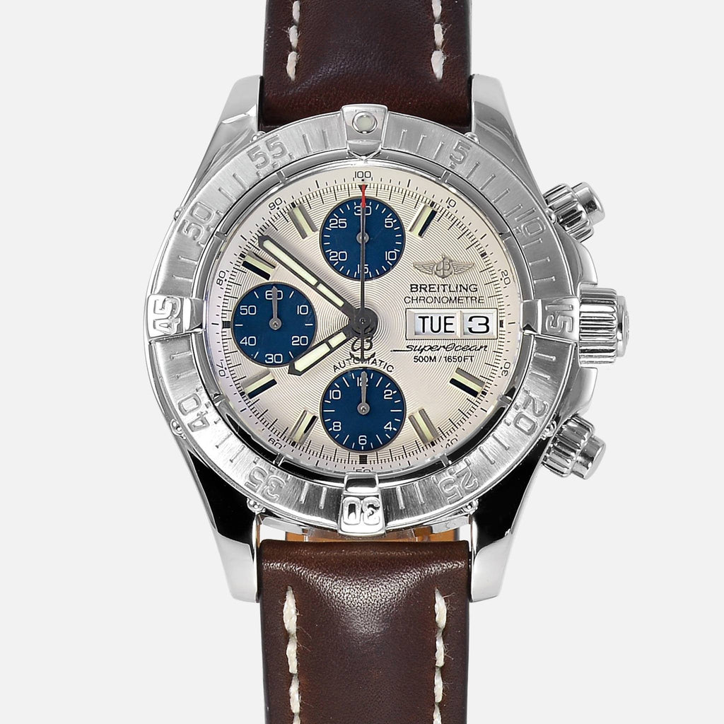 Breitling Superocean Divers Chronograph White Dial A13340 - NeoFashionStore