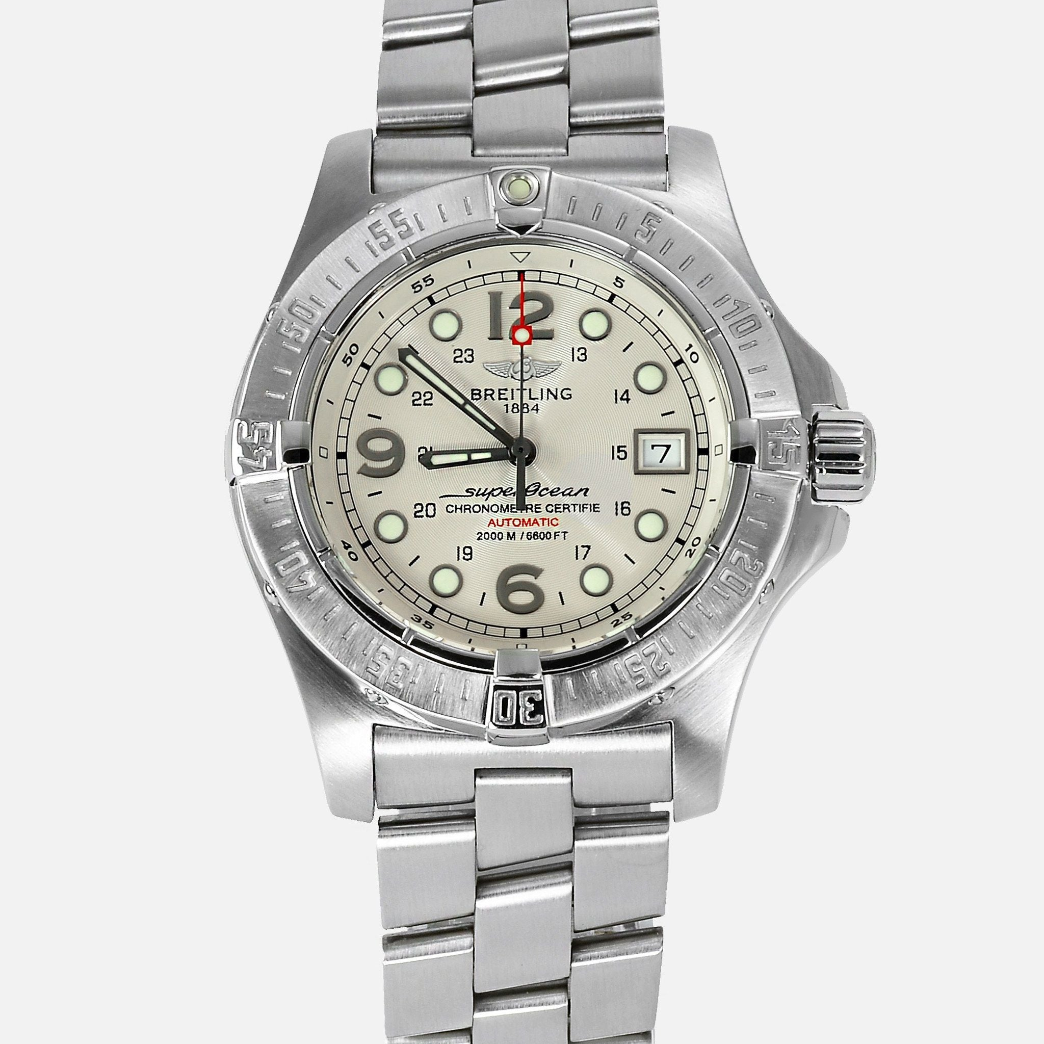 wholesale dealer 14a2f 33e6f Breitling Superocean Steelfish Automatic A17390 Mens Luxury ...