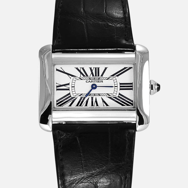 Cartier Tank Divan Ref 2600 Quartz Ladies 38mm - NeoFashionStore