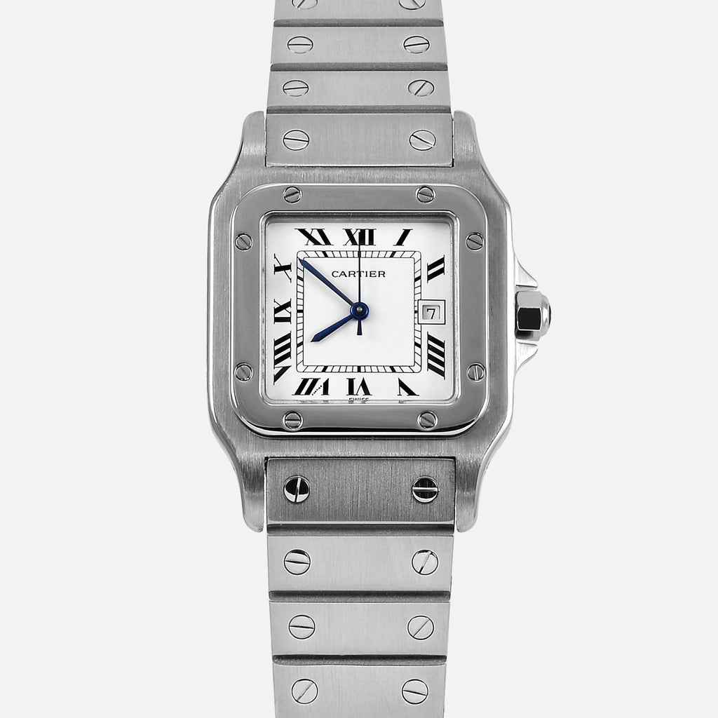 Cartier Santos Galbee Automatic Stainless Steel Watch - NeoFashionStore