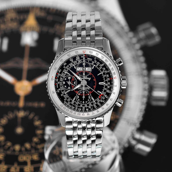 Breitling Navitimer Montbrillant Datora A21330 Mens Watch - NeoFashion Store