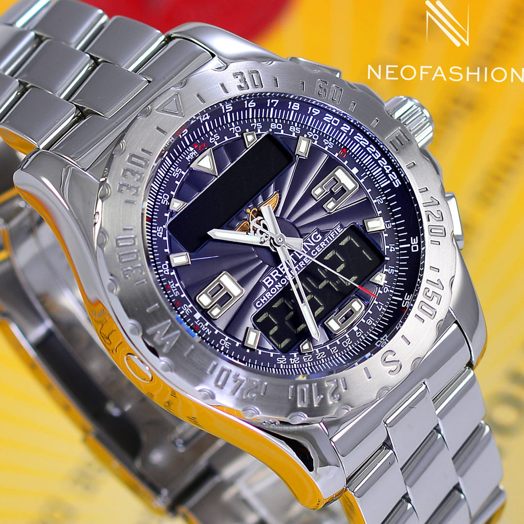 Breitling Airwolf Professional Chronometer Blue Slate A78363 - NeoFashionStore