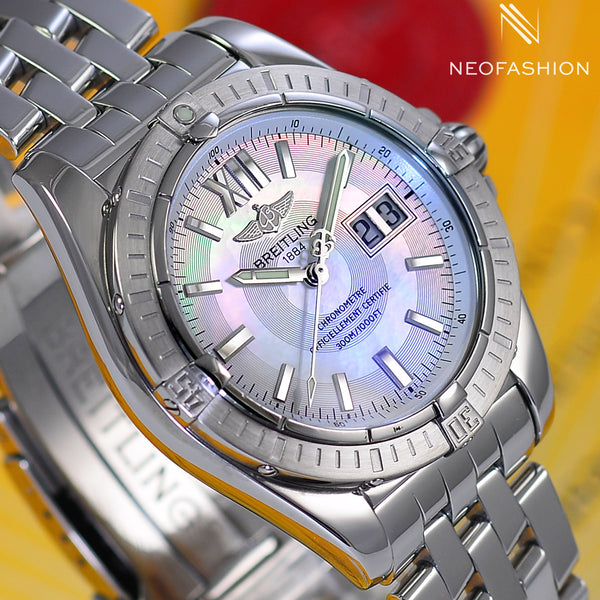Breitling Cockpit 41 Automatic Big Date MOP Dial A49350 - NeoFashionStore