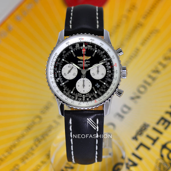 Breitling Navitimer 01 BOEING 777 LIMITED EDITION AB0120 Black Dial 43mm - NeoFashionStore