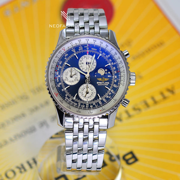 Breitling Navitimer Olympus Perpetual Calendar with Moon Phase A19340