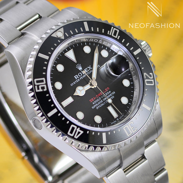 Rolex Sea Dweller 43mm Red 50th Anniversary 126600