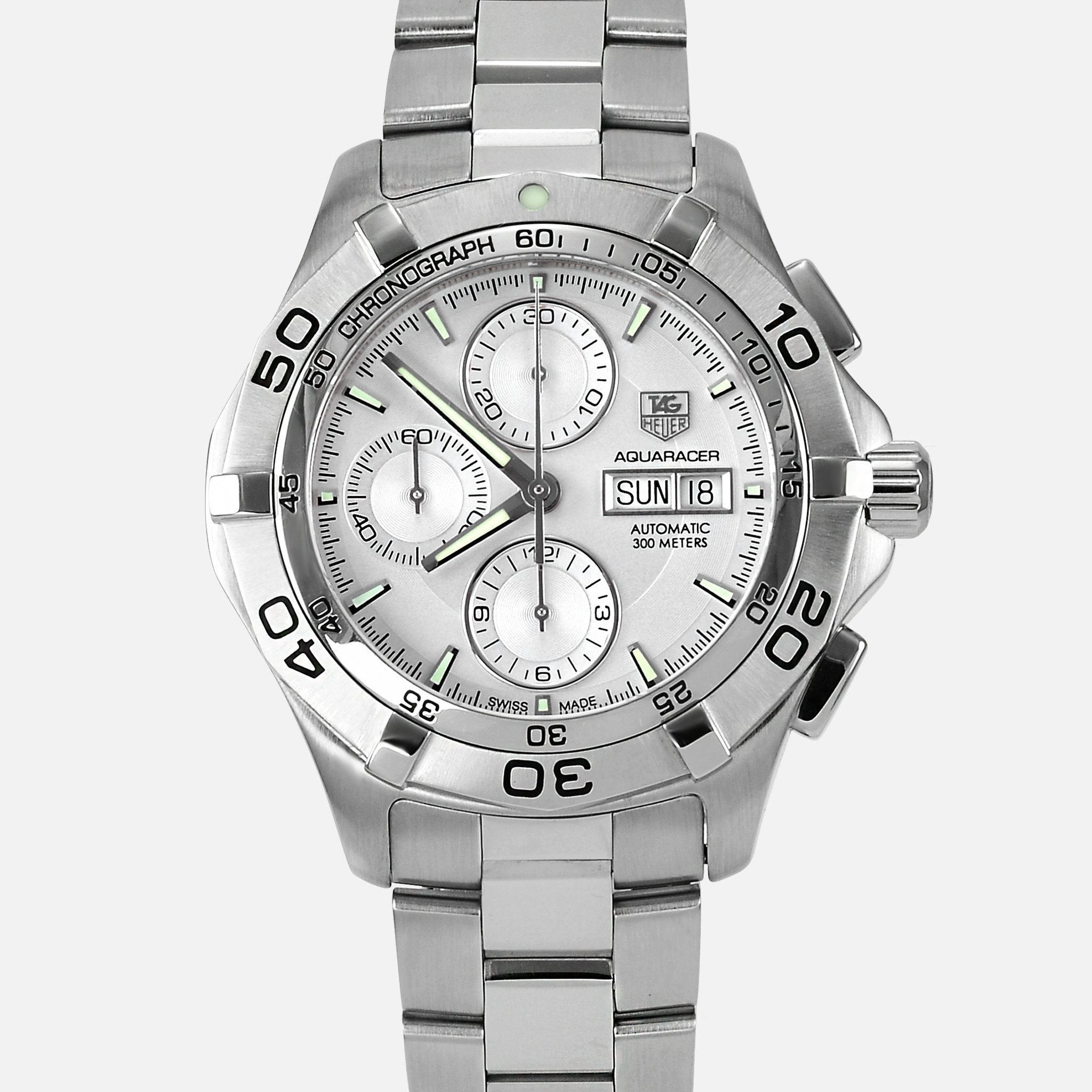 eee88f826e2c Tag Heuer Aquaracer Automatic Chronograph Day Date Mens CAF2011 -  NeoFashionStore ...