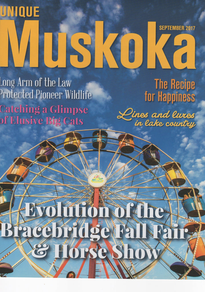 The Recipe For Happiness - Unique Muskoka Magazine article