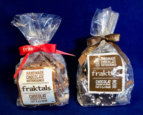 **Fraktals Cashew Butter Crunch Chocolate (2 sizes)