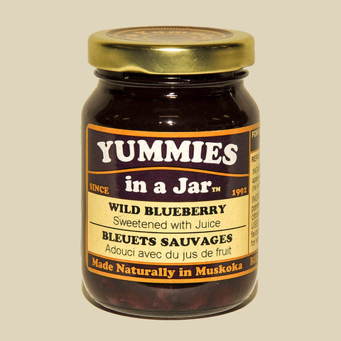 Wild Blueberry No Sugar Added Jam