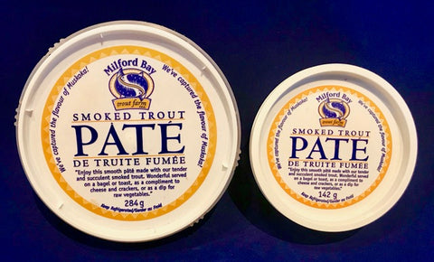 *Smoked Trout Pate.  Available in 2 sizes.  In-store Pick Up Only