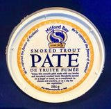 **Smoked Trout Pate.  Available in 2 sizes.  In-store or Curb side Pick Up Only