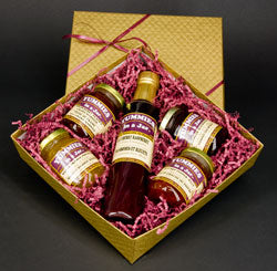 Gift Box with 1 Maple Syrup and 4 small jars