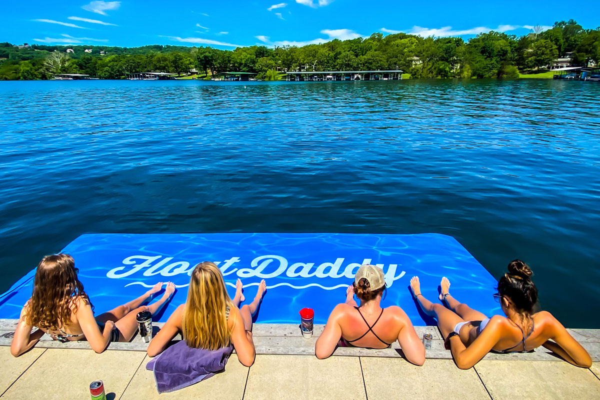 Hardware Accessories for FloatDaddy Lake Mats