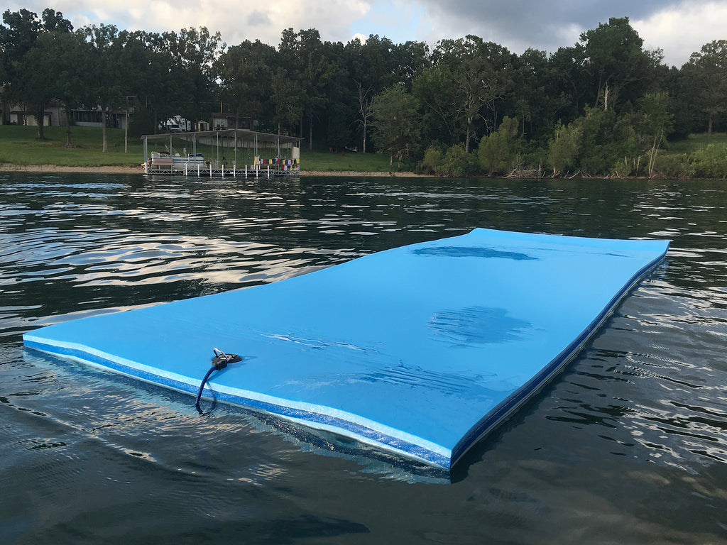 FloatDaddy SuperIsland Swim Mat